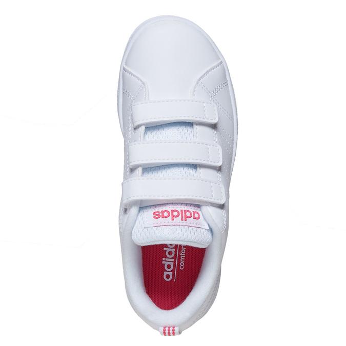Dievčenské tenisky na suchý zips adidas, biela, 301-1268 - 19