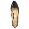 Kožené dámske lodičky insolia, čierna, 724-6649 - 19