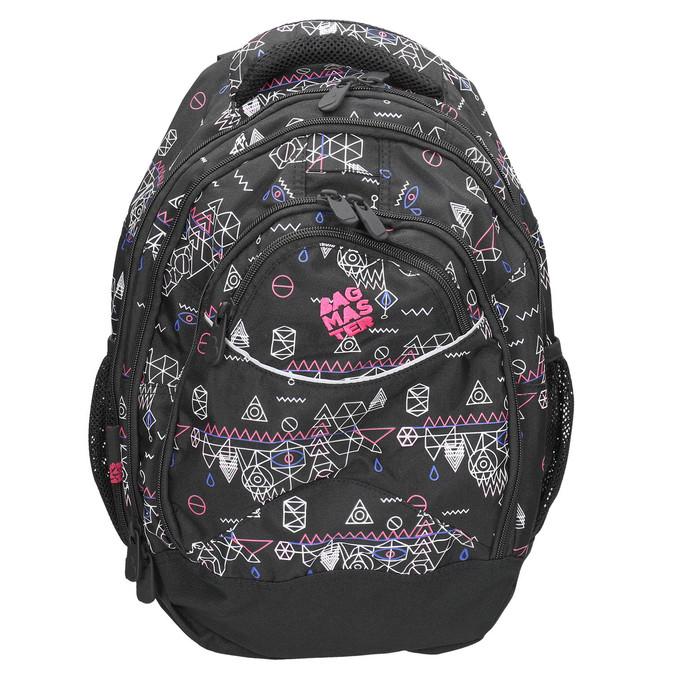 Školský batoh s potlačou bagmaster, čierna, 969-6650 - 26