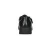 Dámske kožené tenisky bata, čierna, 526-6630 - 17