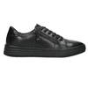 Dámske kožené tenisky bata, čierna, 526-6630 - 15