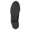 Členkové dámske čižmy s cvokmi bata, čierna, 596-6658 - 17