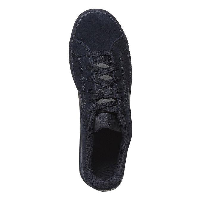 Pánske kožené tenisky nike, čierna, 803-6302 - 19