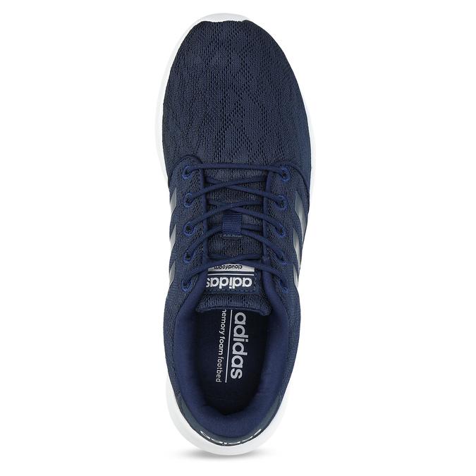 Modré tenisky športového strihu adidas, modrá, 509-9112 - 17