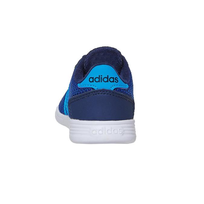 Chlapčenské modré tenisky adidas, modrá, 109-9288 - 17