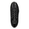 Kožené tenisky s výraznou podrážkou bata, čierna, 526-6641 - 26