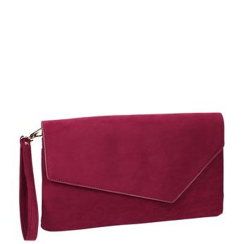 Dámska vínová listová kabelka bata, červená, 969-5665 - 13