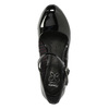 Čierne lakované lodičky insolia, čierna, 721-6610 - 26