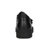 Čierne kožené tenisky na suchý zips bata, čierna, 526-6646 - 16
