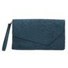 Dámska modrá listová kabelka s pútkom bata, modrá, 969-9665 - 19