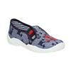 Detská domáca obuv s kotvou mini-b, modrá, 379-2213 - 13