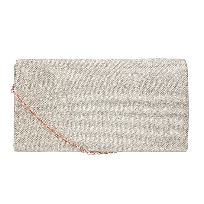 Zlatá dámska listová kabelka bata, zlatá, 969-1661 - 26