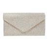 Zlatá dámska listová kabelka bata, zlatá, 969-1661 - 17