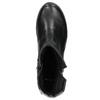 Kožená členková obuv bata, čierna, 594-6641 - 26