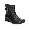 Kožená členková obuv bata, čierna, 594-6641 - 13