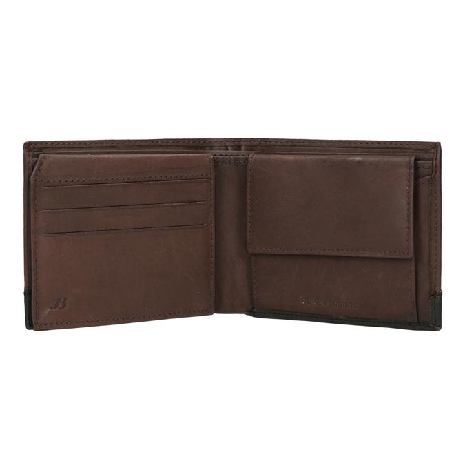 Pánská kožená peňaženka bata, hnedá, 944-8149 - 15