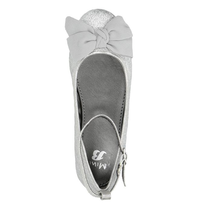 Strieborné dievčenské baleríny mini-b, strieborná, 329-1286 - 15