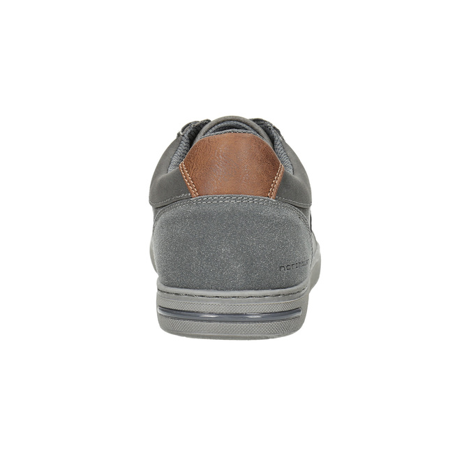 Pánske šedé tenisky north-star, šedá, 841-2607 - 17