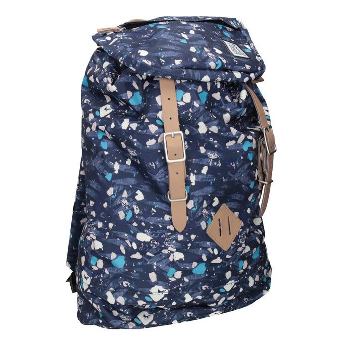 Batoh s farebným vzorom the-pack-society, modrá, 969-9076 - 13
