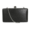 Pevná dámska listová kabelka bata, čierna, 969-6660 - 26