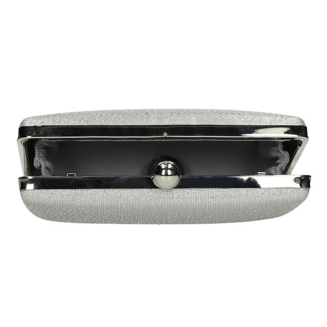 Strieborná listová kabelka bata, strieborná, 969-1660 - 15