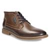 Kožená pánska členková obuv bata, hnedá, 826-4614 - 13