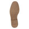 Kožená pánska členková obuv bata, hnedá, 826-4614 - 26