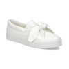 Biela dámska Slip-on obuv s mašľou north-star, biela, 511-1606 - 13