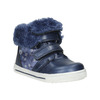 Dievčenská obuv s kožušinou bubblegummers, modrá, 121-9621 - 13