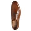 Celokožené hnedé Oxford poltopánky bata, hnedá, 826-3414 - 26