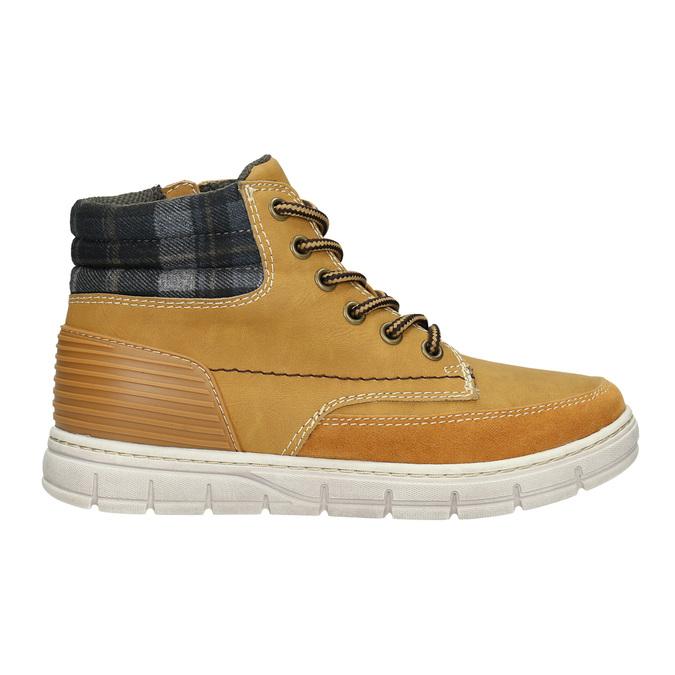 Detská zimná obuv s výraznou podrážkou mini-b, hnedá, 311-8611 - 15