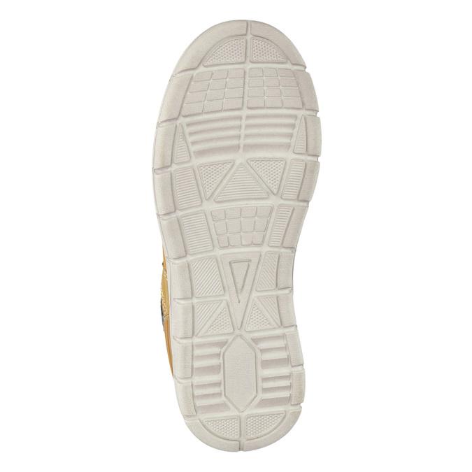 Detská zimná obuv s výraznou podrážkou mini-b, hnedá, 311-8611 - 26