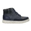 Členková detská obuv na zips mini-b, modrá, 311-9611 - 15