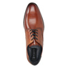 Ležérne kožené poltopánky bugatti, hnedá, 826-3008 - 15
