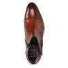 Kožená členková obuv s prackou bugatti, hnedá, 816-3043 - 15
