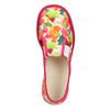 Dievčenská domáca obuv so vzorom bata, ružová, 279-5122 - 15