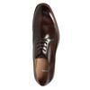 Hnedé pánske kožené poltopánky bata, hnedá, 826-4681 - 26
