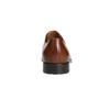 Hnedé kožené Derby poltopánky bata, hnedá, 826-3682 - 17