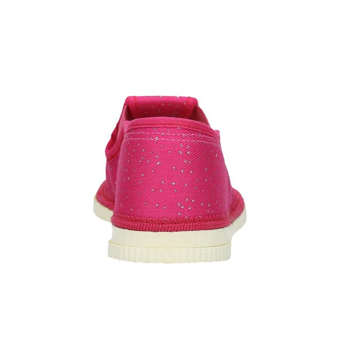 Ružové detské prezuvky bata, ružová, 279-5121 - 16