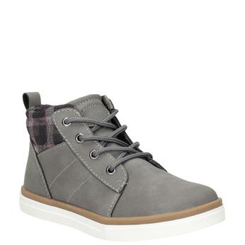 Detská členková obuv mini-b, šedá, 291-2172 - 13