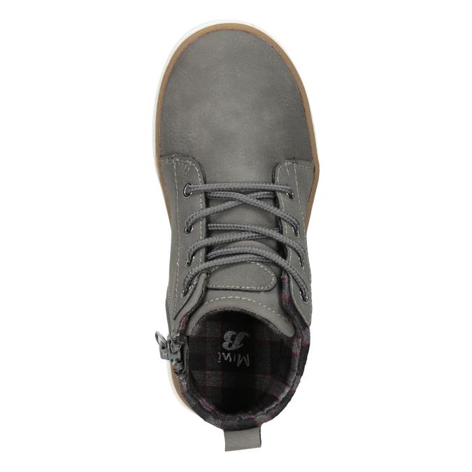 Detská členková obuv mini-b, šedá, 291-2172 - 15