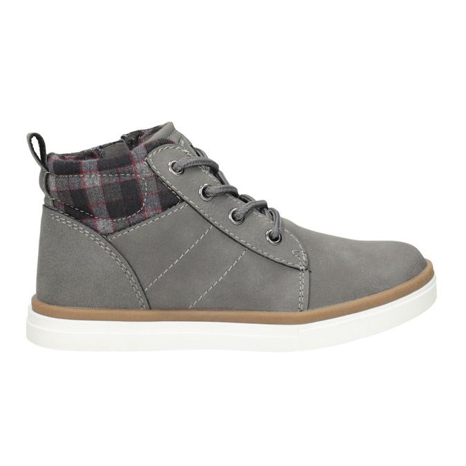 Detská členková obuv mini-b, šedá, 291-2172 - 26