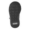 Detská kožená členková obuv bubblegummers, šedá, 114-2603 - 17