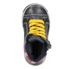 Detská kožená členková obuv bubblegummers, šedá, 114-2603 - 15