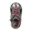 Kožená detská členková obuv bubblegummers, šedá, 123-2602 - 15