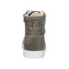 Detská kožená členková obuv bullboxer, šedá, 494-8023 - 16