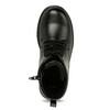 Šnurovacia detská obuv mini-b, čierna, 391-6407 - 17