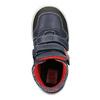 Kožené členkové tenisky mini-b, modrá, 214-9203 - 15