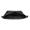 Čierna kabelka s klopou bata, čierna, 961-6751 - 15