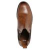 Hnedé kožené Chelsea Boots bata, hnedá, 896-3673 - 26